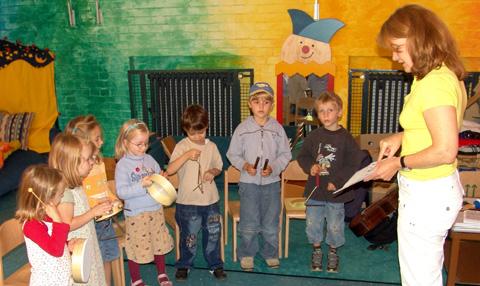 Musikalische Früherziehung Kita-Raderthal